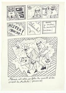 Robert COMBAS - Drawing-Watercolor - Mesieur est Selvi...