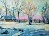 Ewa WITKOWSKA - Painting - Window view