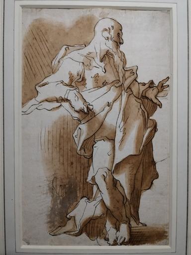 Abraham BLOEMAERT - Disegno Acquarello