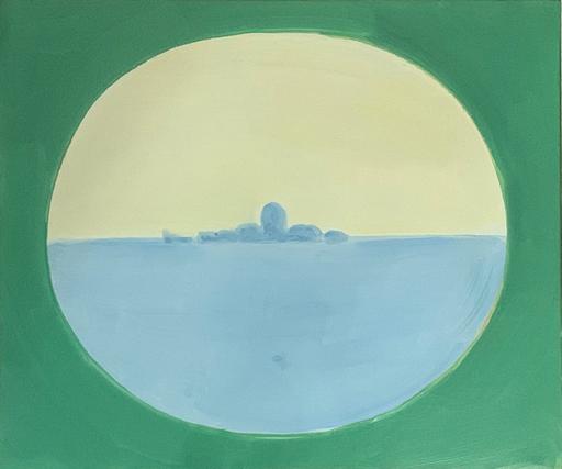 Virgilio GUIDI - Pintura - L'isola di San Giorgio