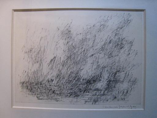 Jean René BAZAINE - Dibujo Acuarela - SANS TITRE 1963