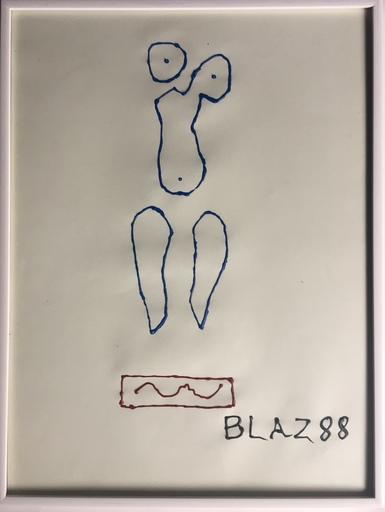 BLAZ 88 - Disegno Acquarello - CORONA ANTHROPOMETRIE