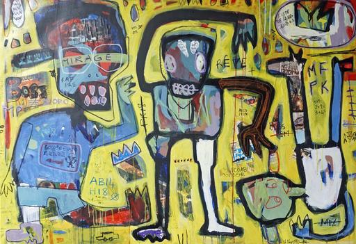 LIBY - Painting - Héros des temps modernes