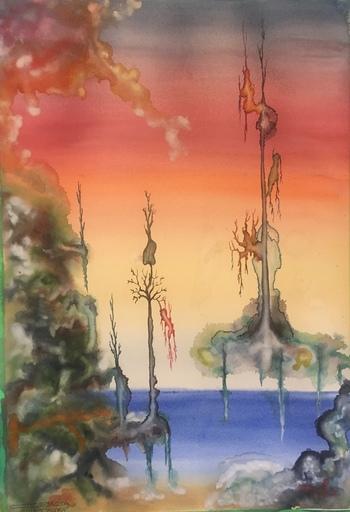 Romeo DOBROTA - Painting - Dignity,