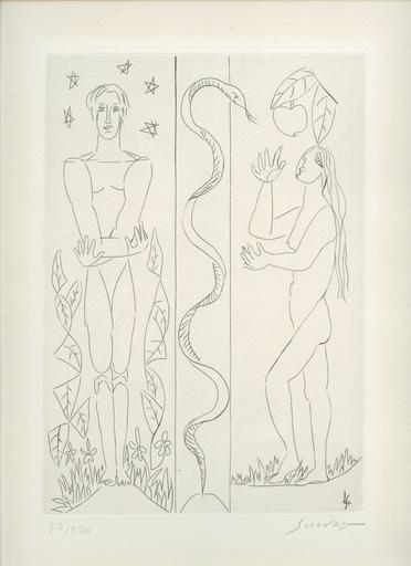 Léopold SURVAGE - Print-Multiple - GRAVURE SIGNÉE AU CRAYON NUM/270 HANDSIGNED NUMB ETCHING