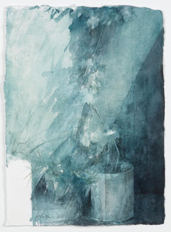 Pedro CANO - Zeichnung Aquarell - Hortus