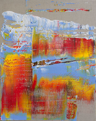 Harry James MOODY - Peinture - Linen With Some Abstract No.552