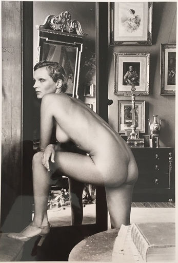 Helmut NEWTON - Photography - Roselyne, Chateau d'Arcangues