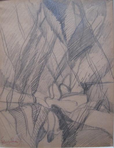 弗兰提斯克•库普卡 - 水彩作品 - SANS TITRE  1920