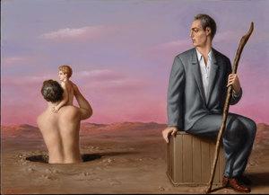 Stefano DI STASIO - Painting - Metà della vita