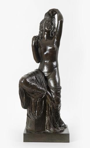Joseph BERNARD - Escultura - Jeune fille se coiffant
