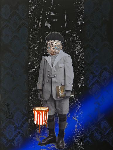 Jean-Luc CURABET - Painting - O range, ô désespoir !