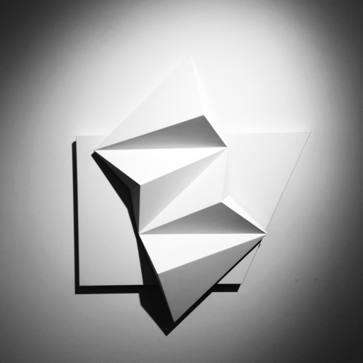 Fabrice AINAUT - Scultura Volume - Blanc sur blanc