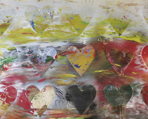 Jim DINE (1935) - Hearts in the Meadow