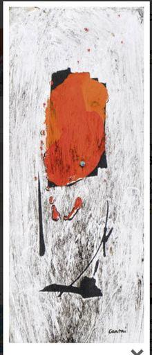 Eugenio CARMI - 绘画 - Senza titolo 1959