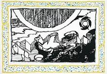 皮埃尔·阿列钦斯基 - 版画 - Sans l'ecorce D