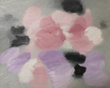 Antonio LAGO RIVERA - Peinture - Rosa, negro, violeta
