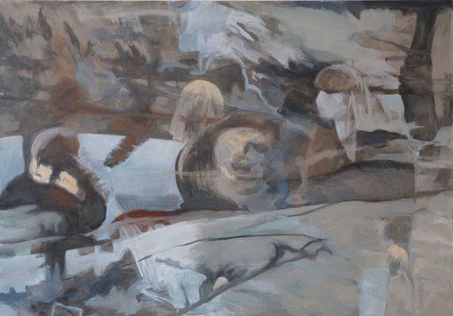 Clémence ARNOLD - Painting - « Ma mémoire floue III »