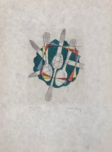 MAN RAY - Stampa-Multiplo - Seria Electro Magie II