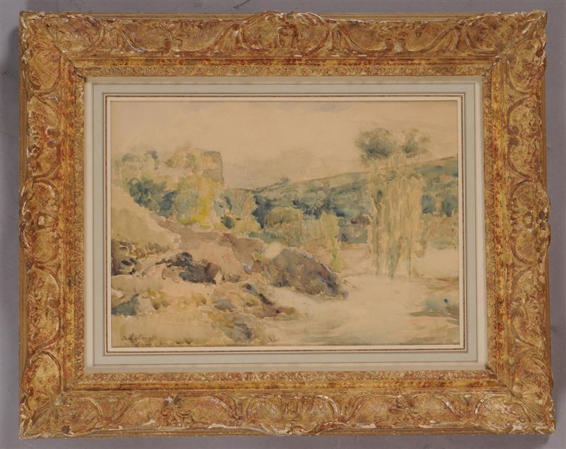 Albert Marie LEBOURG - Drawing-Watercolor - Moulineux