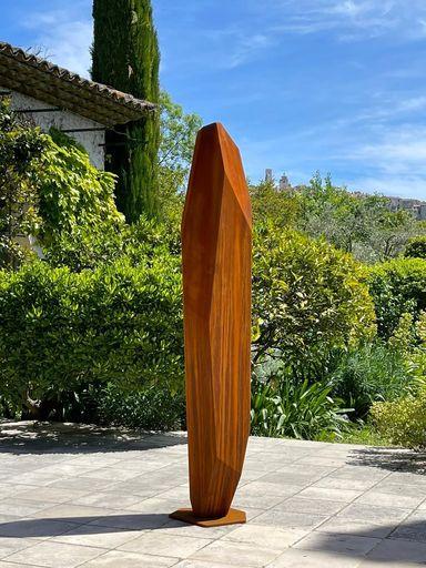 Arik LEVY - Sculpture-Volume - RockTotem 172 corten