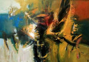 Levan URUSHADZE - Painting - Composition # 53