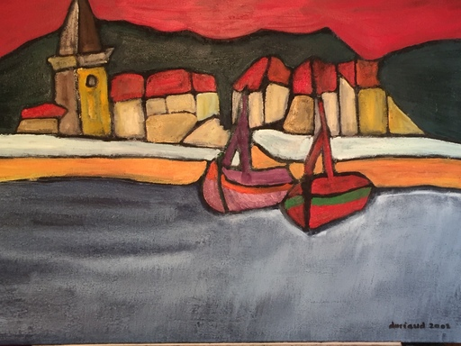 Christian DURIAUD - Pintura - 2 voiliers