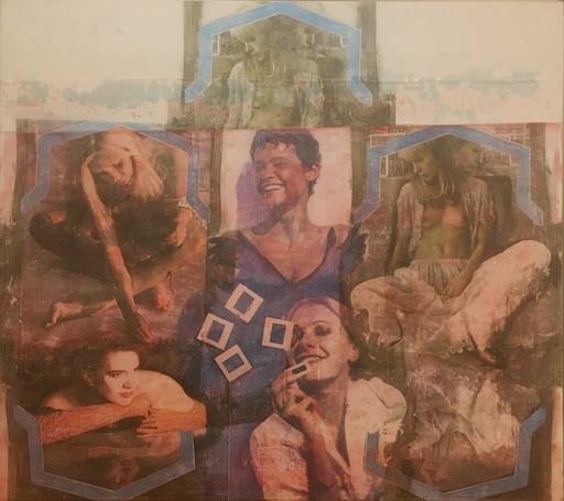 Pol MARA - Gemälde - La maison du temps perdu