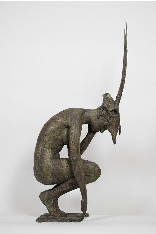 Christophe CHARBONNEL - Sculpture-Volume - Guerrière Oryx