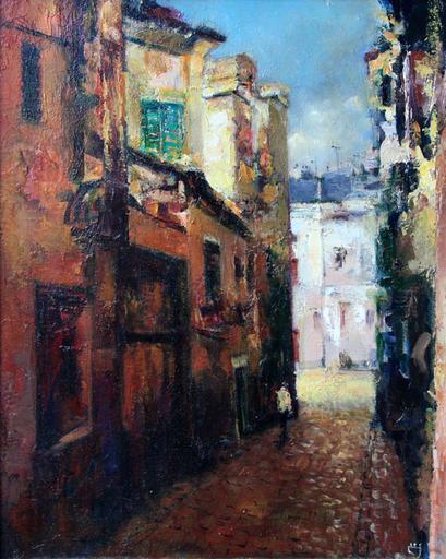 Levan URUSHADZE - Gemälde - Porto old street