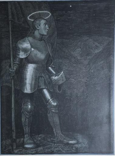 Hans THOMA - Print-Multiple - Der Hüter des Tales