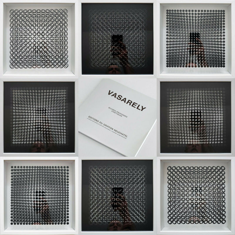 Victor VASARELY - Print-Multiple - Oeuvres Profondes Cinetiques