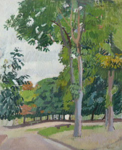 Raoul DUFY - Pittura - Le parc