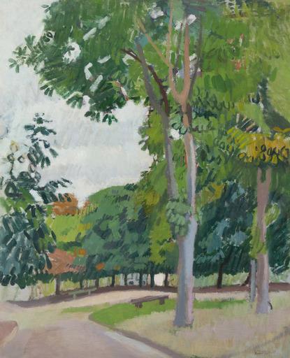 Raoul DUFY - Pintura - Le parc