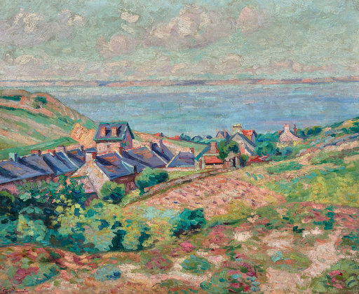 Armand GUILLAUMIN - Painting - Le Val André