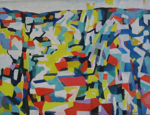 Jacques LAGRANGE - Pintura - Arcueil