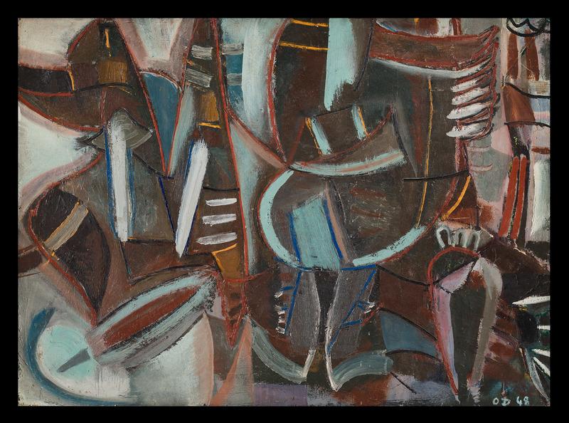 Olivier DEBRÉ - Painting - Untitled