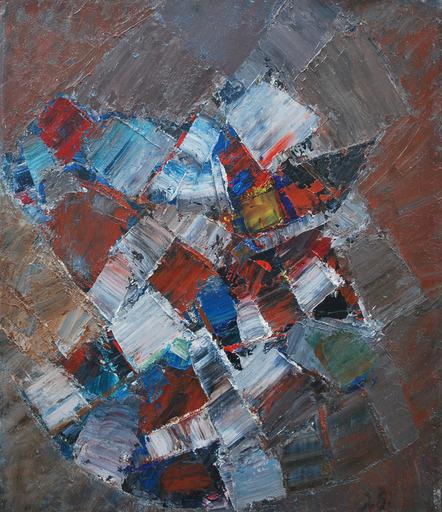 Jacques GERMAIN - Peinture - Composition, 1970