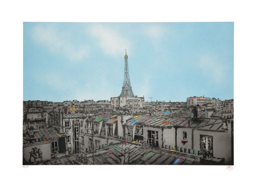Nick WALKER - Stampa Multiplo - The Morning After: Paris