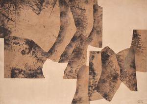 Eduardo CHILLIDA - Disegno Acquarello - Sin título