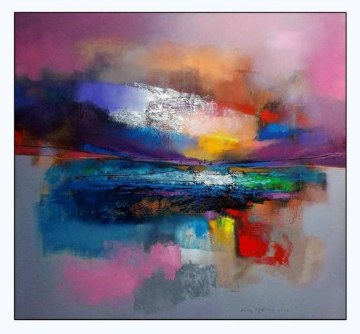 Héctor VELÓZ MARTÍNEZ - Pintura - Reflections & Bridges between 2 Waters