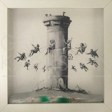 BANKSY - Sculpture-Volume - Box Set green or red