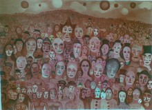 "Marcel MARCEAU - Print-Multiple - ""The Crowd (The Third Eye)"""