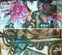 """Théo TOBIASSE - Painting - """" Entre myrte et fleur de cannelle"""""""