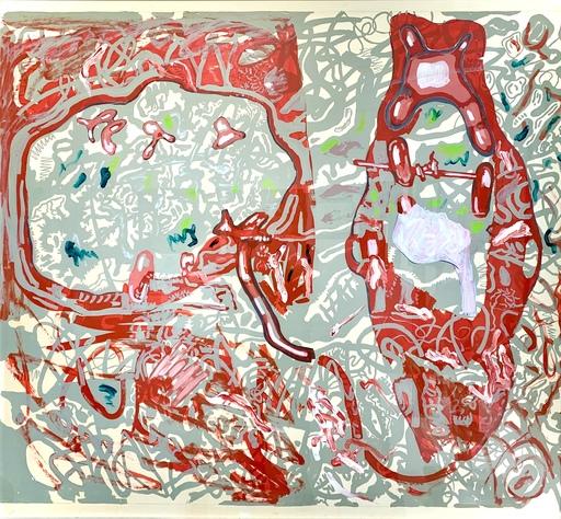 Luis Rodríguez GORDILLO - Painting - Tiburón de la selva