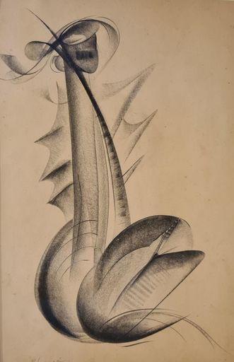 Jean Gabriel CHAUVIN - Zeichnung Aquarell - Sans titre