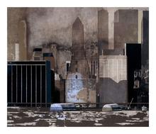 Jorge CASTILLO - Grabado - Wall Street II, NY