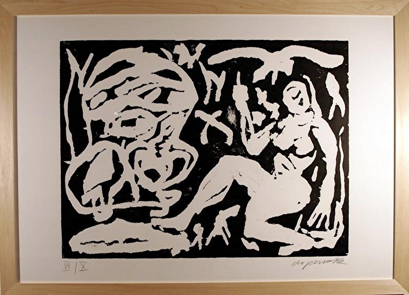 A.R.彭克 - 版画 - O.T.