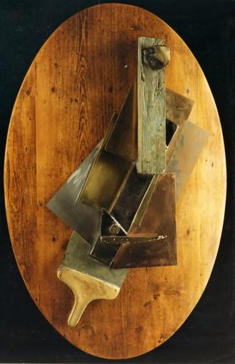 Aldo MONDINO - Sculpture-Volume - Chitarra cubista