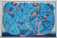 Laurent CASIMIR (1928-1990) - Haitian roundel